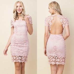 SALE!! Crochet Lace Dress